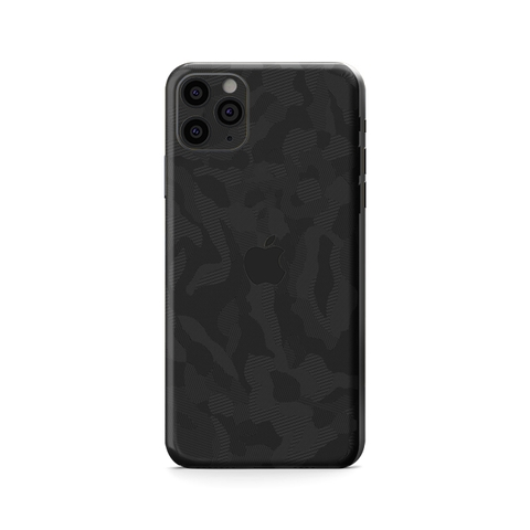 Skin 3M Black Camo IPhone Pro | Pro Max