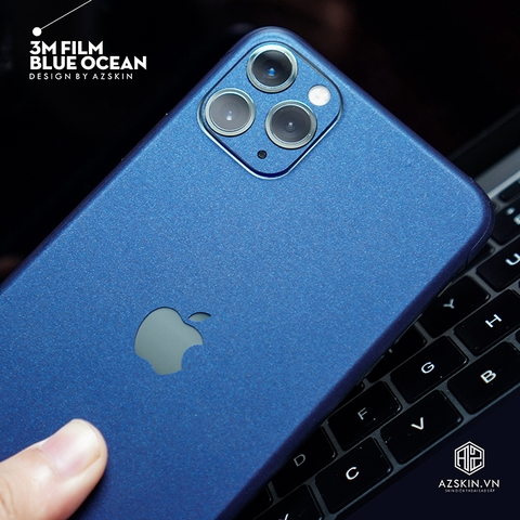 Dán Skin IPhone Pro | IPhone Pro Max | Xanh Blue