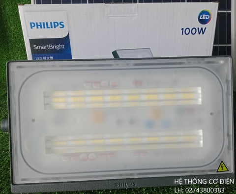 Đèn Led Pha Philips BVP174 LED95/CW 100W WB GREY CE