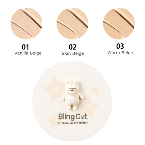 PHẤN NƯỚC BLING CAT CUSHION 03 TONYMOLY