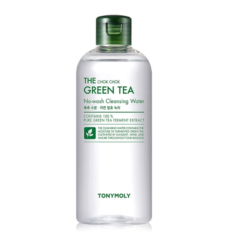 THE CHOK CHOK GREEN TEA CLEANSING WATER TONYMOLY