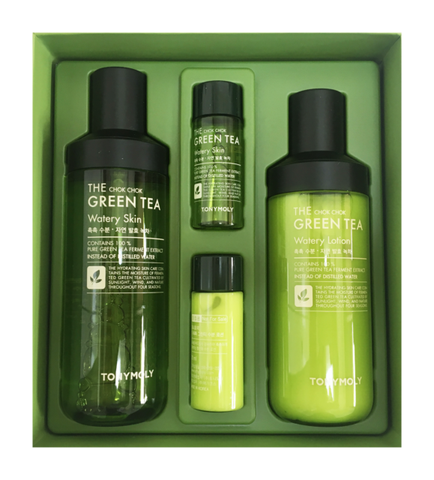 BỘ DƯỠNG DA THE CHOK CHOK GREEN TEA SKIN CARE SET TONYMOLY