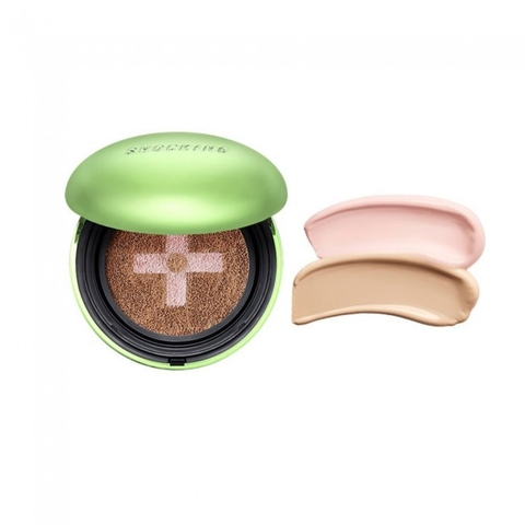 PHẤN NƯỚC THE SHOCKING CUSHION TROUBLE COVER O2 TONYMOLY
