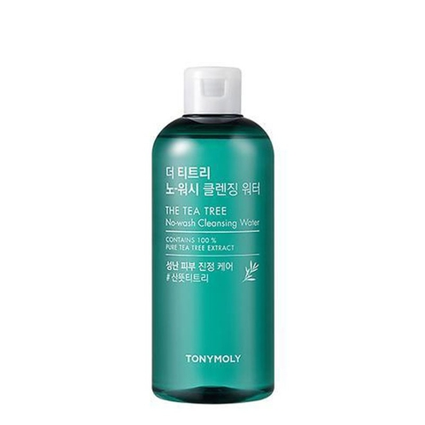 NƯỚC TẨY TRANG THE TEATREE NO-WASH CLEANSING WATER TONYMOLY