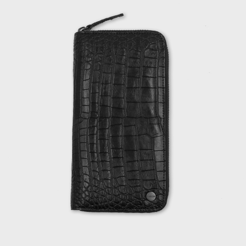 ZIPPY LONG WALLET - CROCODILE