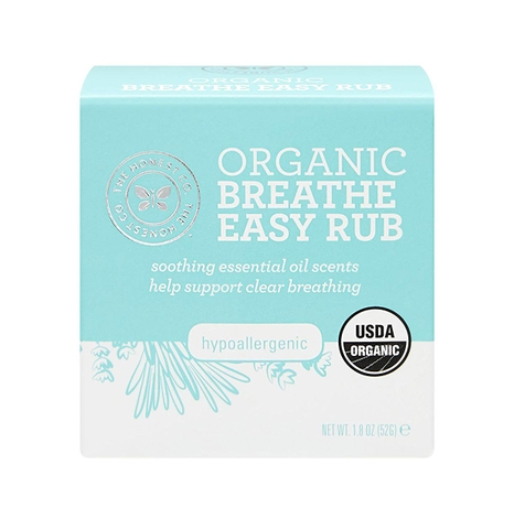 Dầu ấm Organic Breathe Easy Rub