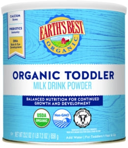 Earth's Best Organic Toddler Milk Drink Powder 658g