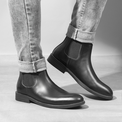 Giày chelsea boots cao cấp GD111