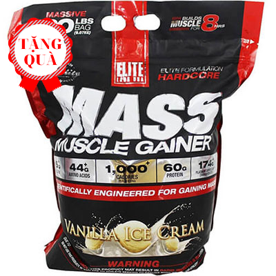 Elite labs Mass Muscle Gainer (9.09kg)