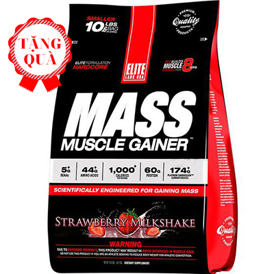Elite labs Mass Muscle Gainer (4.62kg)
