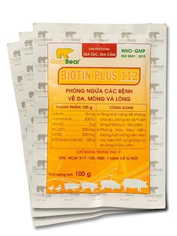 BIOTIN PLUS 112 (100G/GÓI)