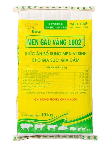 MEN GẤU VÀNG 1002 (10KG/BAO) -
