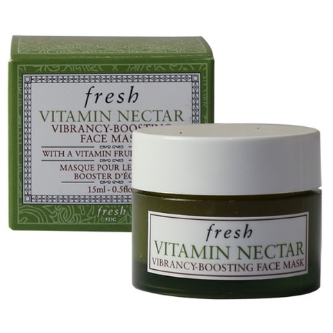Mặt nạ fresh vitamin nectar vibrancy boosting face mask mini 15ml