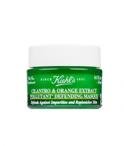 Kiehls cilantro orange extract pollutant defending masque mini 14ml