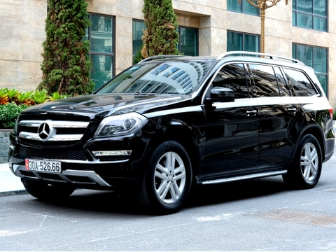 Mercedes GL400 4Matic 2014