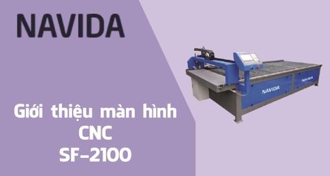 Giới thiệu màn hình cnc SF-2100 cho máy cnc plasma