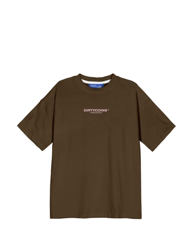 DirtyCoins Bandana T-Shirt - Brown