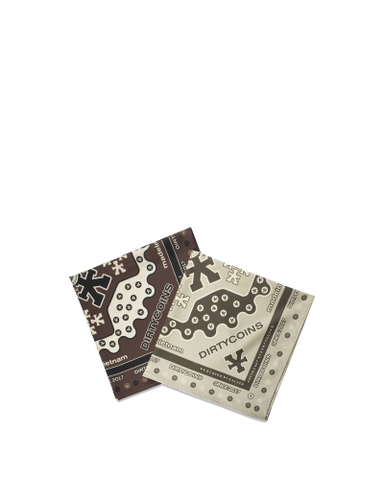 Signature Pattern Bandana Pack (Beige / Brown)