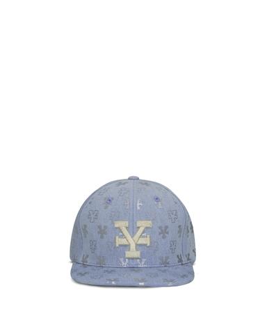 Light Blue Denim Snapback