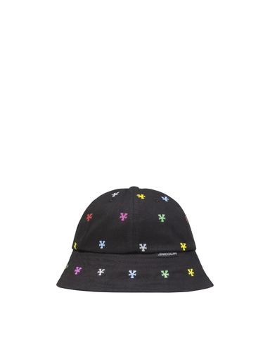 Multicolor Monogram Bucket Hat - Black