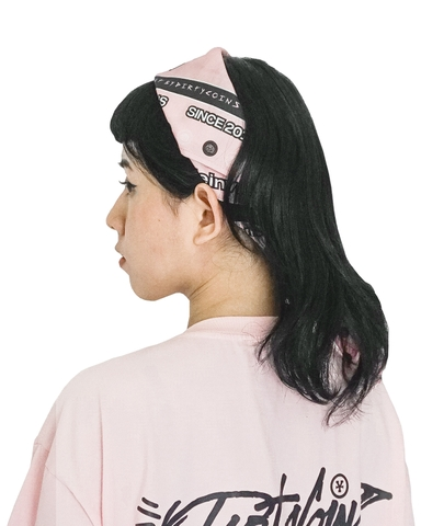 Signature Pattern Bandana Pack (Pink / Blue)