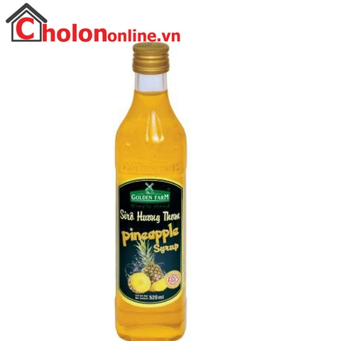 Sirô Golden Farm 520ml - khóm