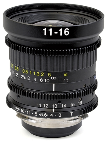 TOKINA 11-16mm T3 Wide Angle Zoom Lens