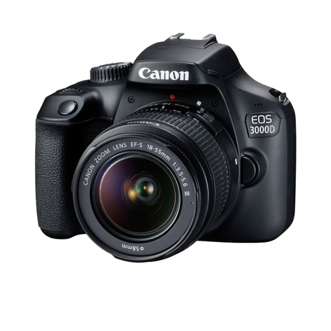 Canon EOS 3000D + 18-55MM F3.5-5.6 III - Mới 100%