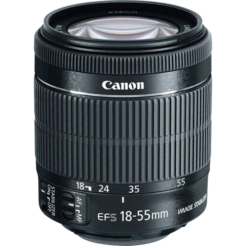 Canon EF-S 18-55mm f/3.5-5.6 IS STM - Mới 100%