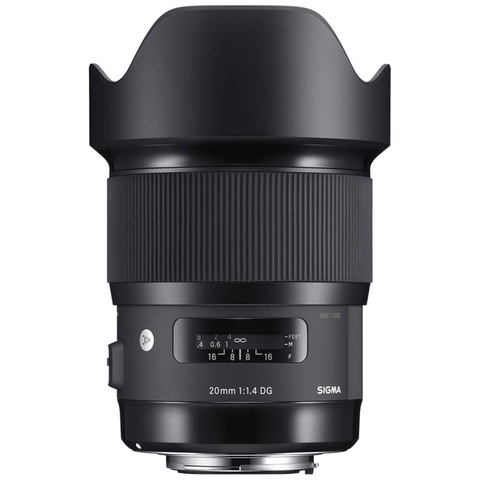 Sigma 20mm F/1.4 DG HSM Art For Ca/Ni - Mới 100%