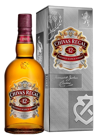 Rượu Chivas Regal 12 Year Old Scotch Whisky 700ml