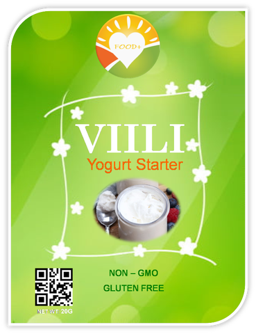 VIILI YOGURT STARTER - ORGANIC ( Men Bột )
