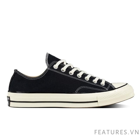 Converse Chuck Taylor All Star 1970s Black White Low