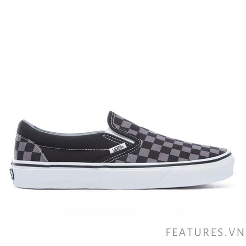 Vans Slip on Checkerboard Black Grey