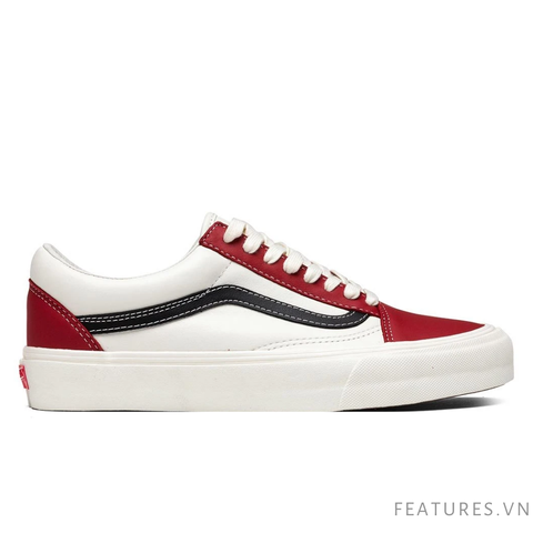 Vans Vault OG Old Skool VLT LX Chili Pepper Black