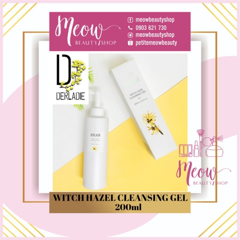 DERLADIE - Sữa rửa mặt Derladie Witch Hazel Cleansing Gel (200ml)