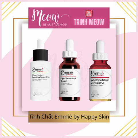 EMMIÉ by Happy Skin - Tinh Chất Retinol EMMIÉ NANO-RETINOL BOOSTING SERUM (20ml)