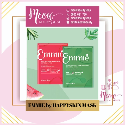 Mặt nạ Emmie happy skin (Bán lẻ từng miếng)