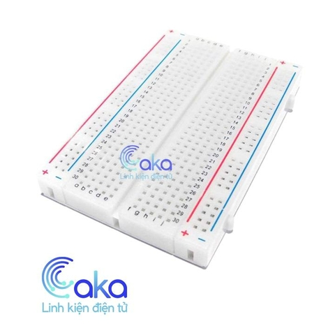 Test Board,Breadboard MB-102 85x55 400 lỗ