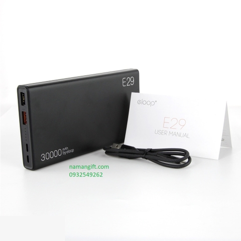 PIN ELOOP E29-30000MAH