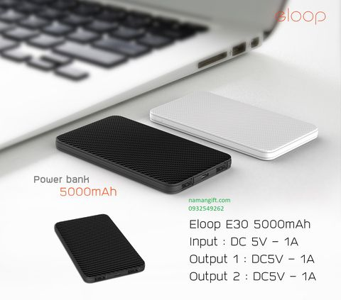 PIN ELOOP E30-5000MAH