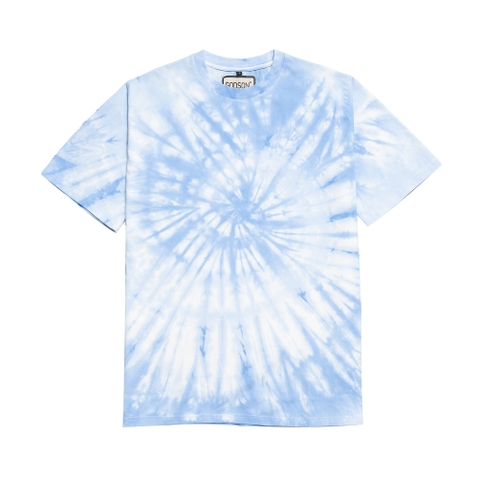 Basic Sky Blue Tiedye Tee