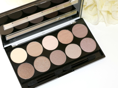 Bảng phấn mắt W7 10 out of 10 Browns Eye Palette 10g