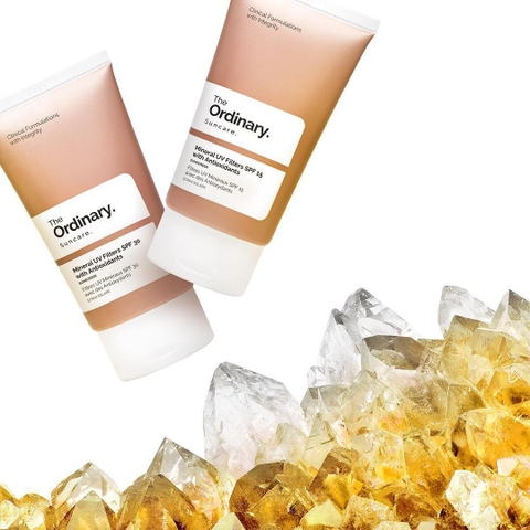 Kem chống nắng chống oxy hóa The Ordinary Mineral UV Filters SPF 30 With Antioxidants