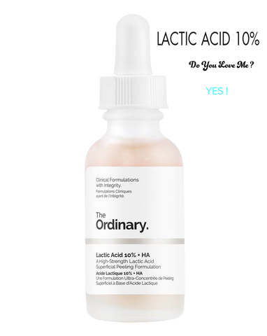 Serum Tẩy tế bào chết The Ordinary Lactic Acid 10% + HA 2% (30ml)