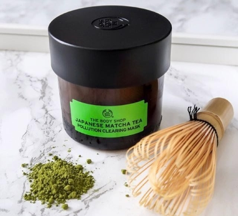 Mặt nạ trà Matcha Nhật Bản The Body Shop Japanese Matcha Tea Pollution Clearing Mask