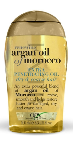 Dầu dưỡng tóc OGX Renewing Argan Oil of Morocco Extra Penetrating Oil 100 ml
