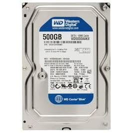 HDD Western Digital Caviar Blue 500GB 7200Rpm, SATA3 6Gb/s, 16MB Cache