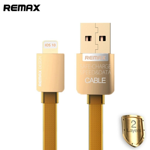Cáp sạc lightning Remax Gold