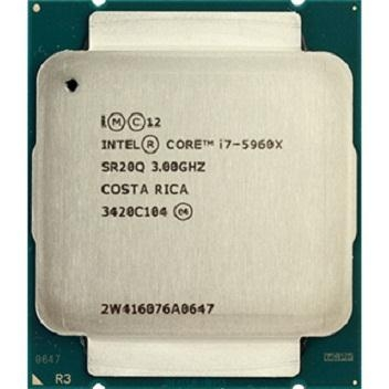 Bộ vi xử lý Intel® Core™ i7 - 5960X 3.00GHz up to 3.5GHz / 8/16 / 20MB / NONE GPU / Socket 2011-v3